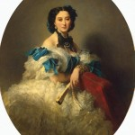 Portrait of Countess Varvara Musina-Pushkina - Franz Xaver Winterhalter