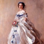 Princess Royal Victoria dressed for her debut, 1856 - Franz Xaver Winterhalter