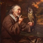 Old Man with an Owl - Karel de Moor