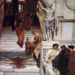 An Audience at Agrippa's - Sir Lawrence Alma-Tadema