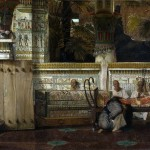 An Egyptian Widow - Sir Lawrence Alma-Tadema