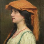 Portrait of a Young Lady - Jules Joseph Lefebvre